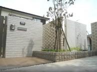 3種類の白い壁