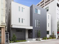 賃貸併用住宅のエクステリア