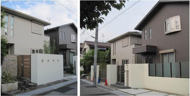 二世帯住宅 エクステリア