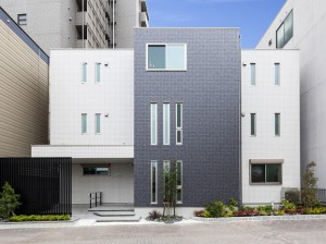 賃貸併用住宅の外構