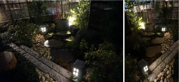 坪庭 夜景