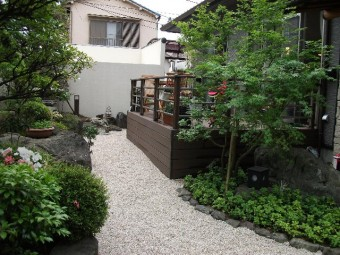 東京 純和風お庭リガーデン後