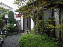 東京 純和風お庭リガーデン前