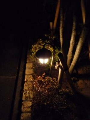 ローボルトの照明