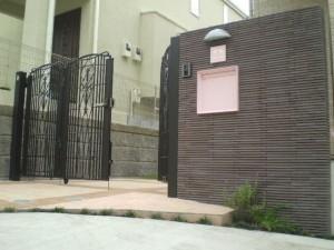 横浜 落ち着きのある可愛らしい門周り