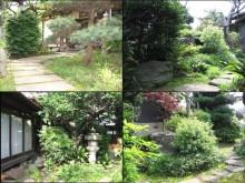 思い出のある以前の中庭