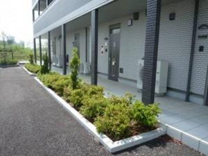 玄関前植栽