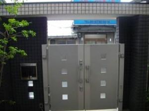オートロック式プレミエス門扉